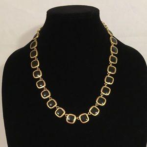 Jewelry - Reversible Necklace Black & Cream
